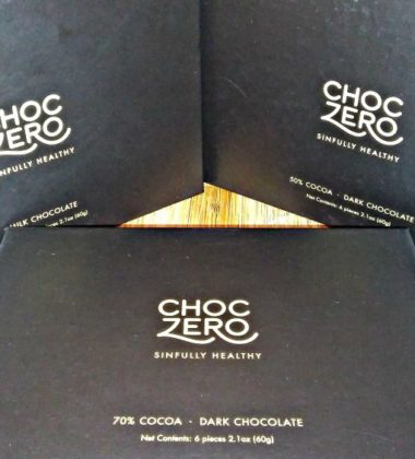ChocZero sinfully healthy 2