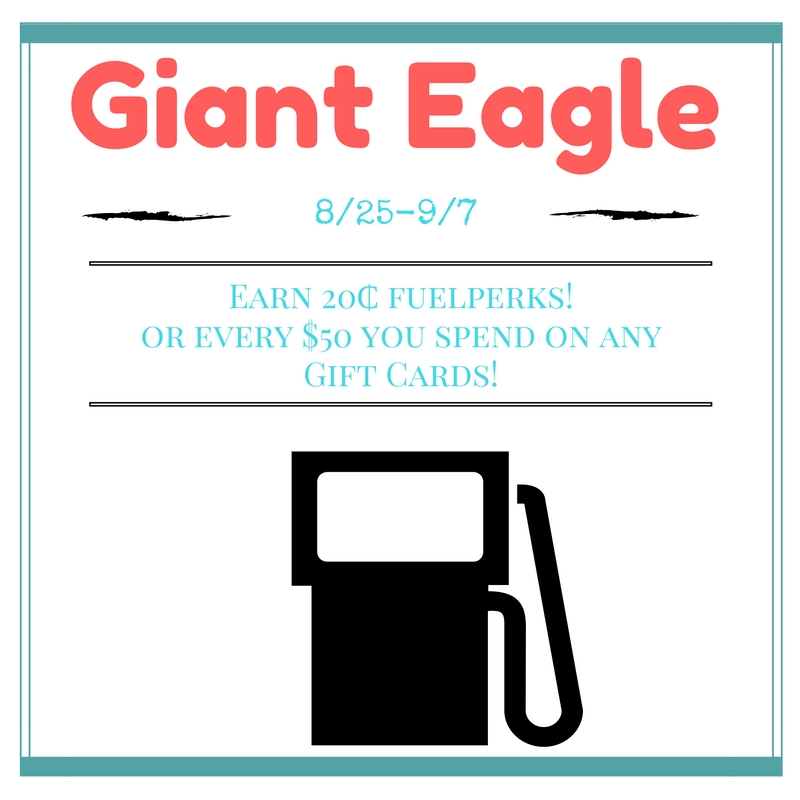 Giant Eagle: Get REWARDS For Buying Gift Cards
