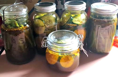 Sweet Pickles and Green Beans