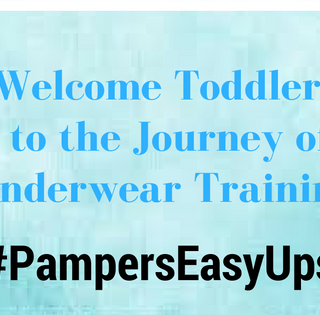 Pampers Easy Ups Training Underwear (unboxing) (giveaway)