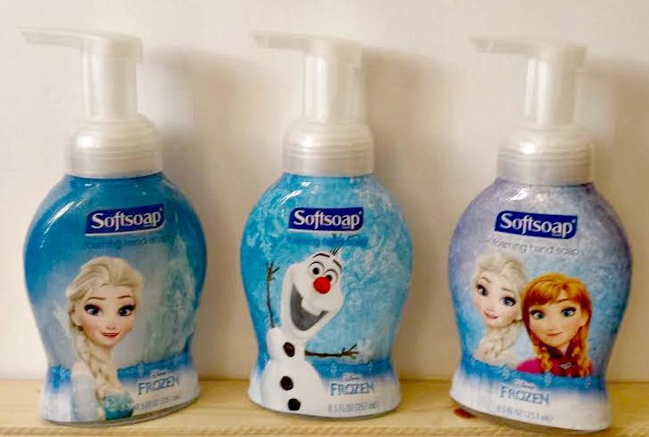 Frozen softsoap