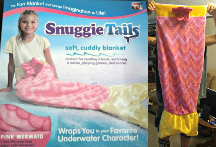 Snuggie tails the blanket that brings imagination to life for Snuggie tails clown fish