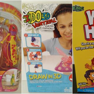 IDO3D Vertical, Zippi-Pets And Wet Head Fun For The Holidays