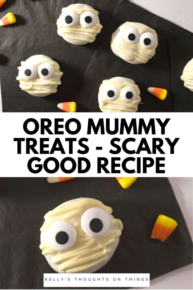 Oreo Mommy Treats on a black cloth