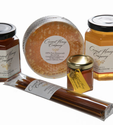 Pure, Raw Honey from Carmel Honey Company, Started by 11-year-old Carmel Student, Makes for Great Gift for the Ultimate Foodie