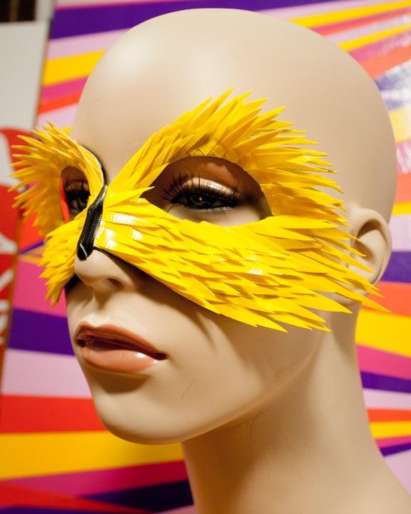 DIY Project: Masks 3 Looks #ducktape