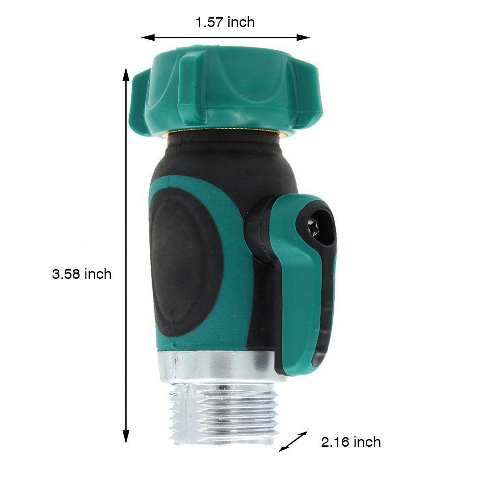 Easy Garden Hose to Hose Shut Off Valve Faucet Connector - Kellys ...