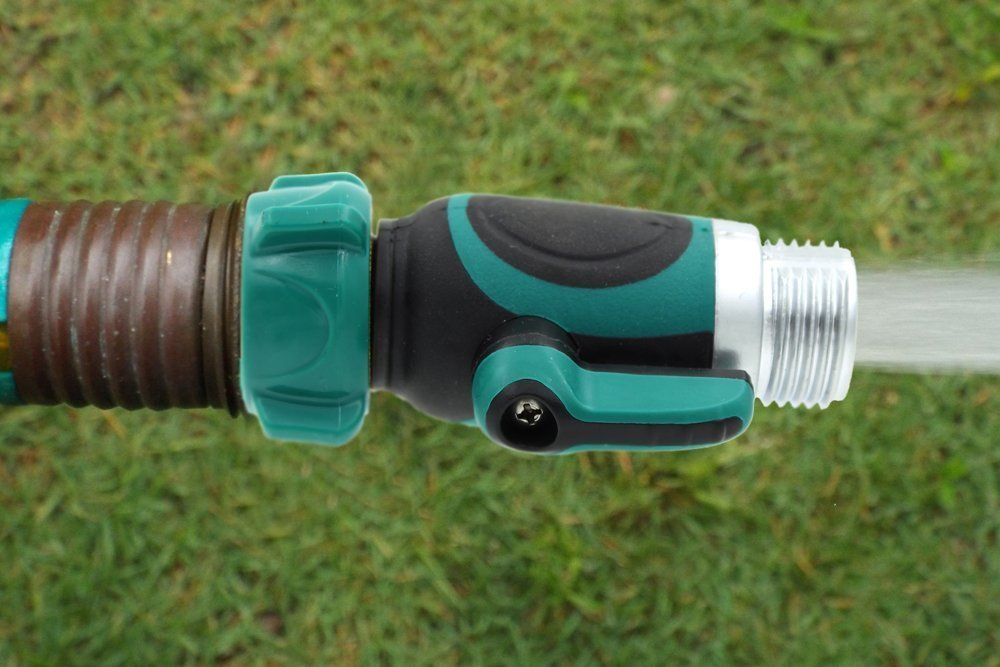 Easy Garden Hose to Hose Shut Off Valve Faucet Connector Kellys