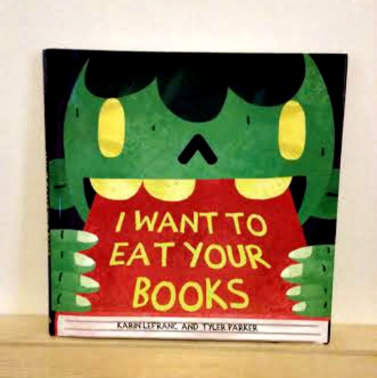 Halloween I want to eat your books