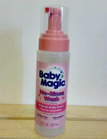 Baby Magic No Rinse
