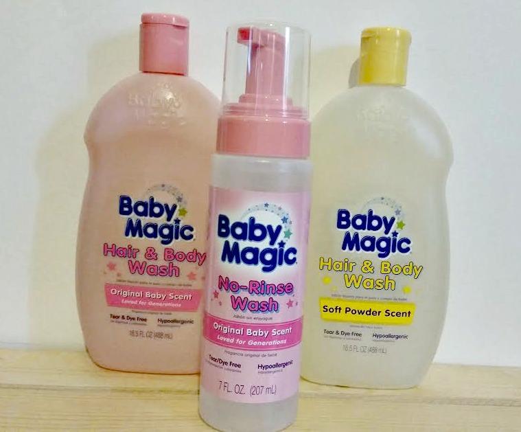 Baby Magic wash