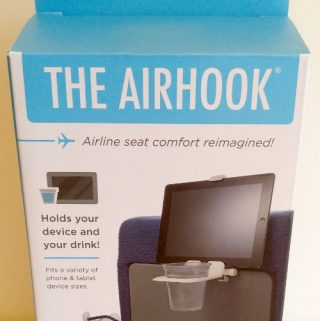 The Airhook Elevates Your Comfort During Air Travel