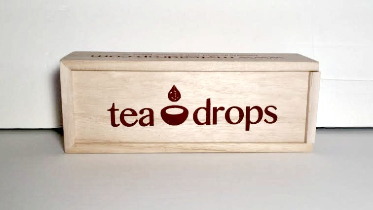 tea drops box