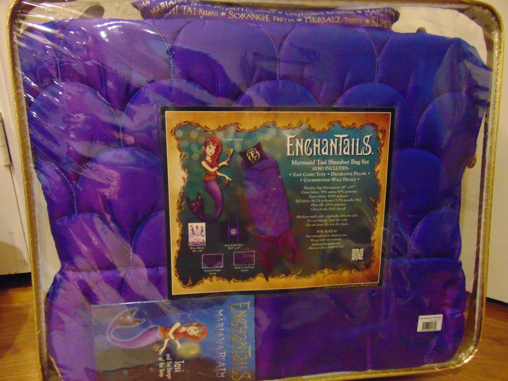 Enchantails the Mermaid Sleeping Bag