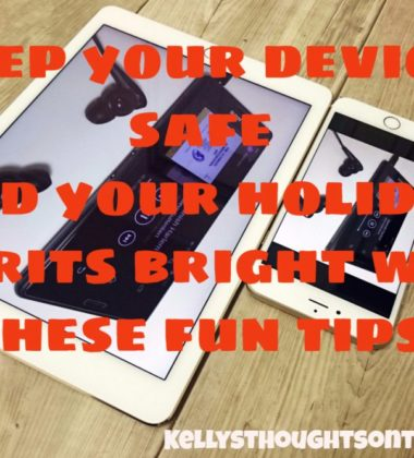 Keep your devices safe and your holiday spirits bright with these fun tips!