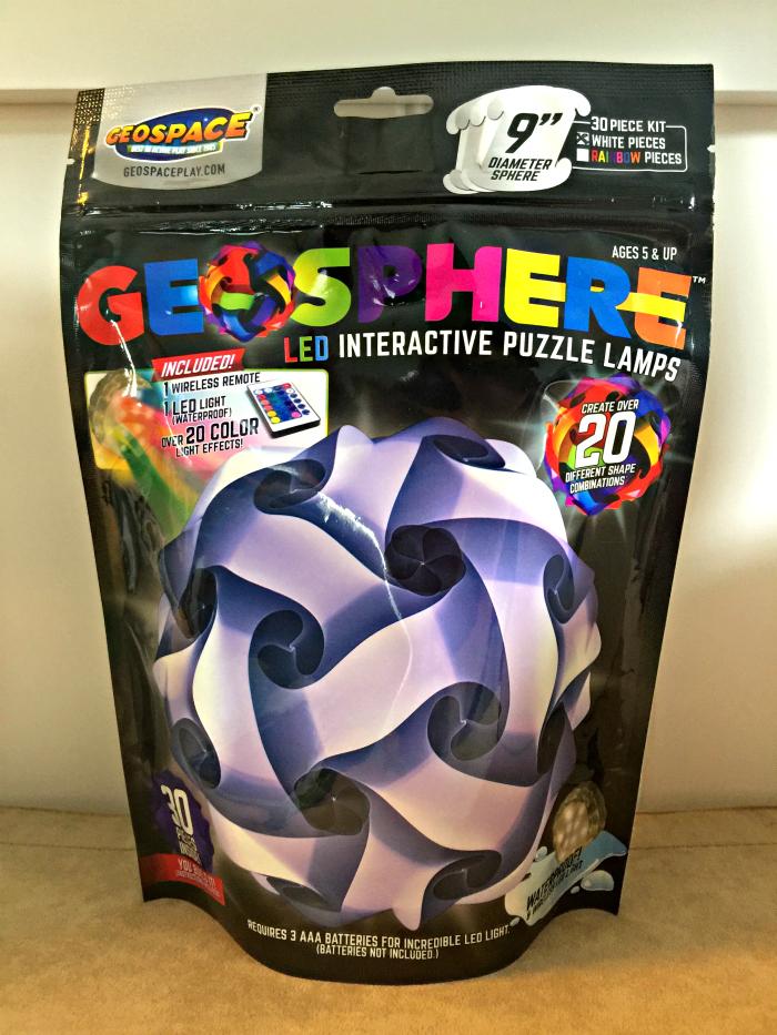 Geosphere Puzzle Lamp