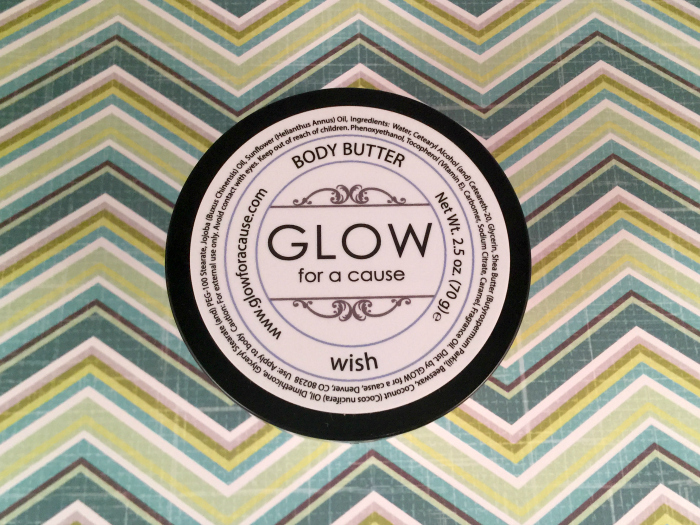 Glow for a Cause Body Butter: Wish