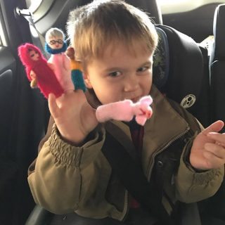 Thumb Things Finger Puppets Make Play Time Fun Time