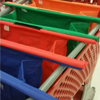 Reuseable Shopping Bags Trolley Bags