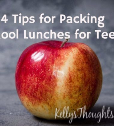 4 Tips for Packing School Lunches for Teens