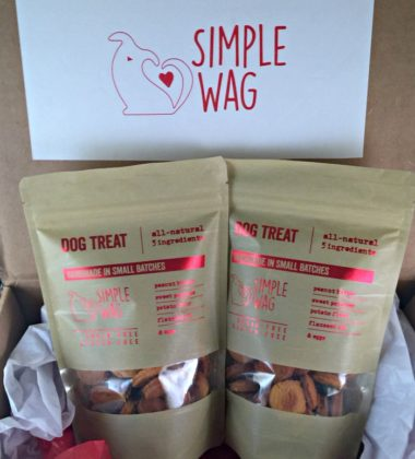 Simple Wag dog treats
