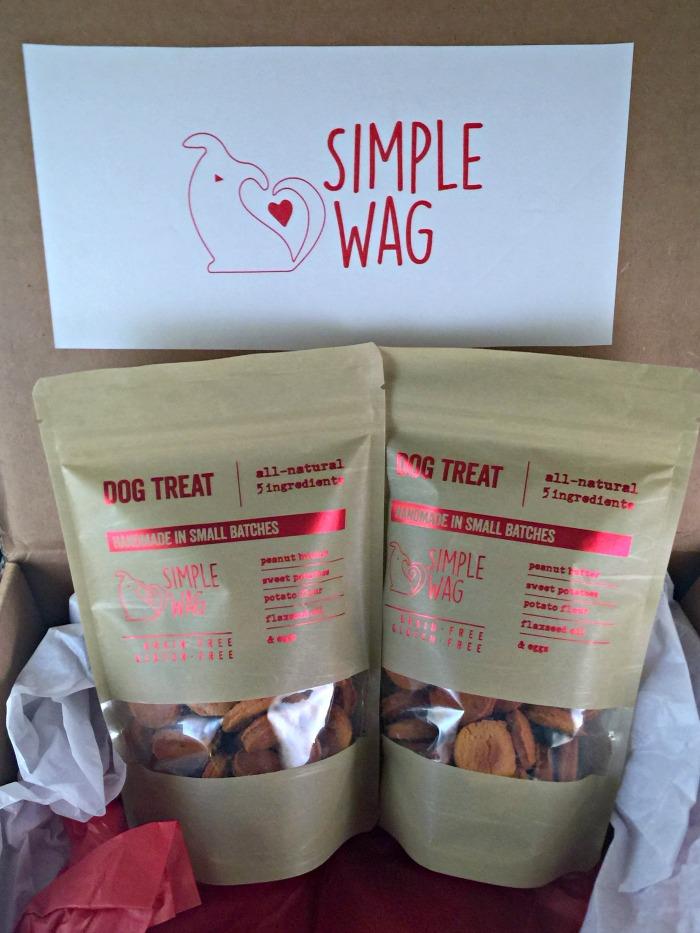 Simple Wag dog treats