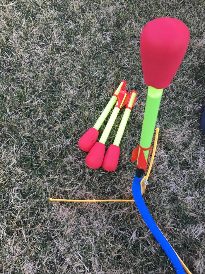 Outdoor Activities - Stomp Rocket