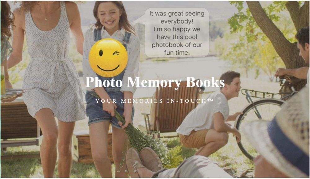 Be FOREVER CONNECTED with these Memory Books