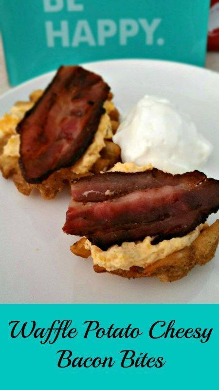 McCain's Seasoned and Craft Beer Fries Snack Food- Waffle Potato Cheesy Bacon Bites.