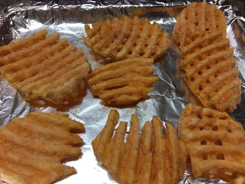 Waffles Fries