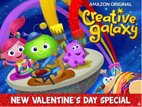 "Creative Galaxy's ""Heart Day"" Valentine's Day Special"