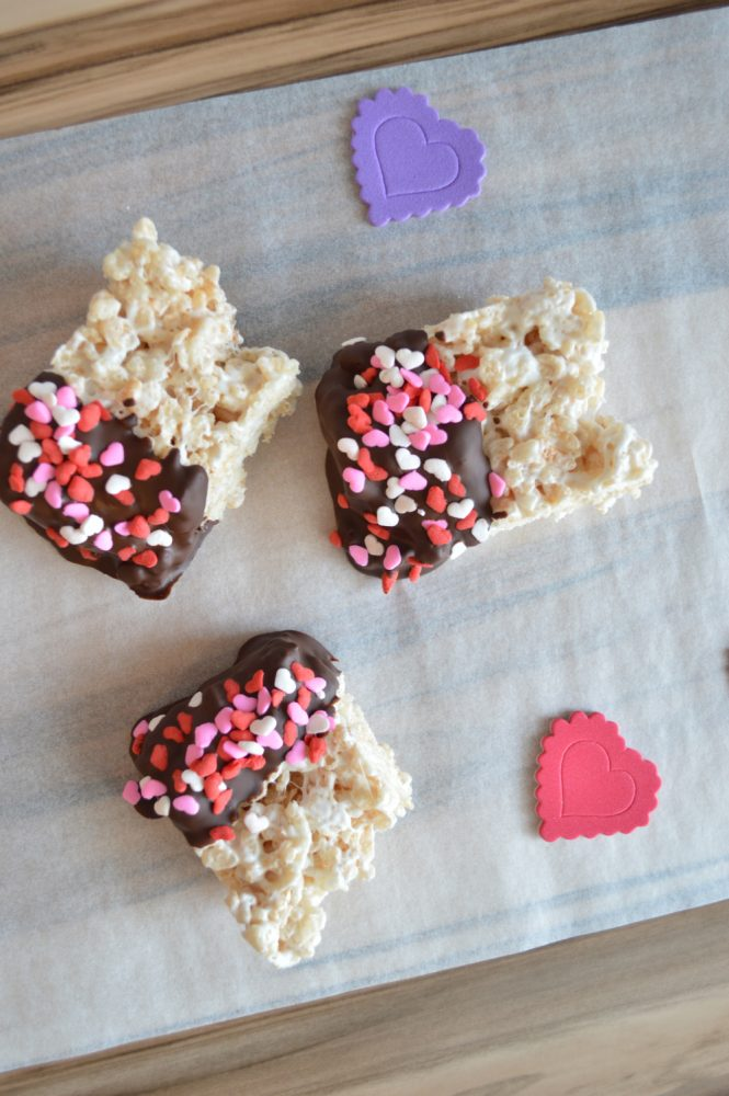 Valentine Cereal Bars Recipe