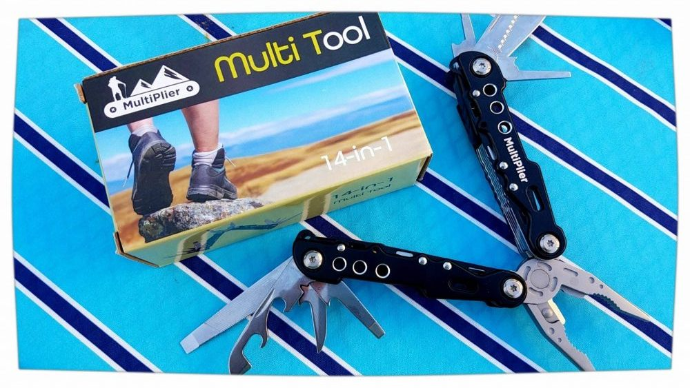 Multi-Plier Multi-tool with Case For Camping, Hunting, Fishing and Much More!