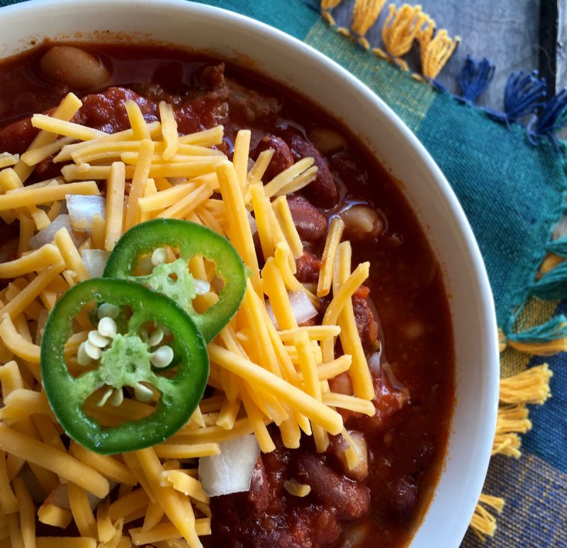 Spicy Slow Cooker Chili Recipe -