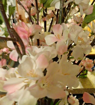 Cherry blossom silk plants