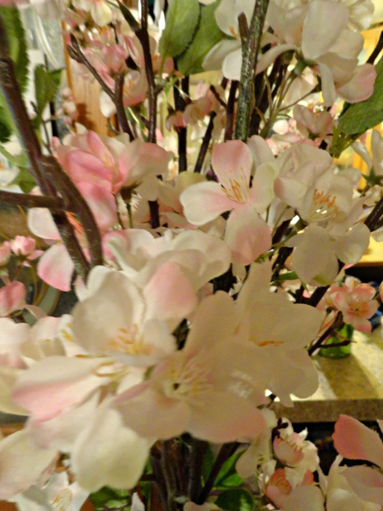 Cherry blossom silk plants