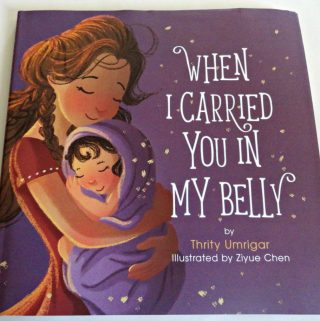 When I Carried You In My Belly is Perfect for Mom's and Kids