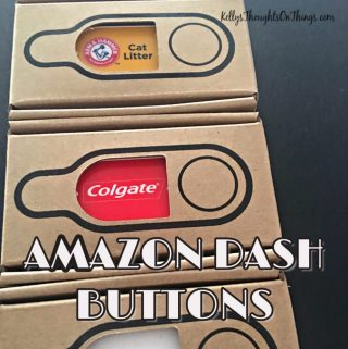 The Amazon Dash Buttons Are AMAZING- Where have you been all my life?