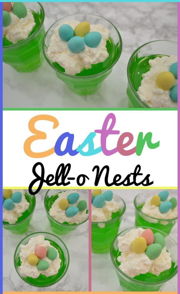 Easter Jell-o Nests Recipe
