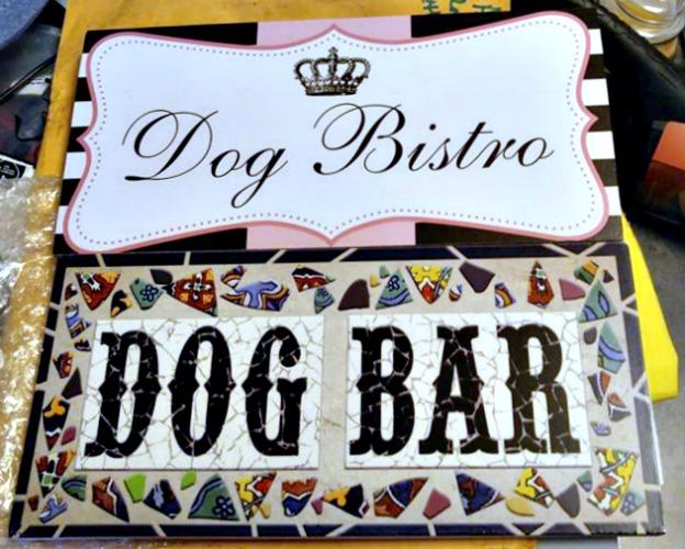 Dog Bar Signs