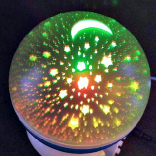 Adoric Night Light Allows You To Stargaze With Your Babies In Their Room