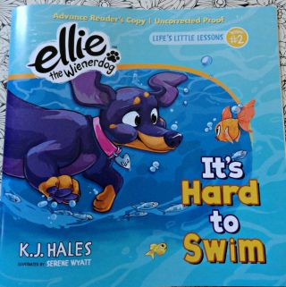 Ellie's Back with Her Life Lessons This Time its Swimming