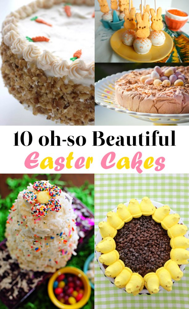 10 beautiful easter cake recipes