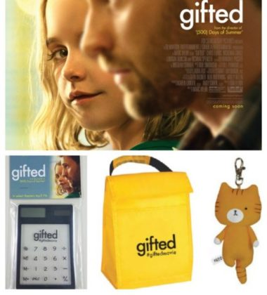 The Gifted Movie SWAG Giveaway ends 4/18