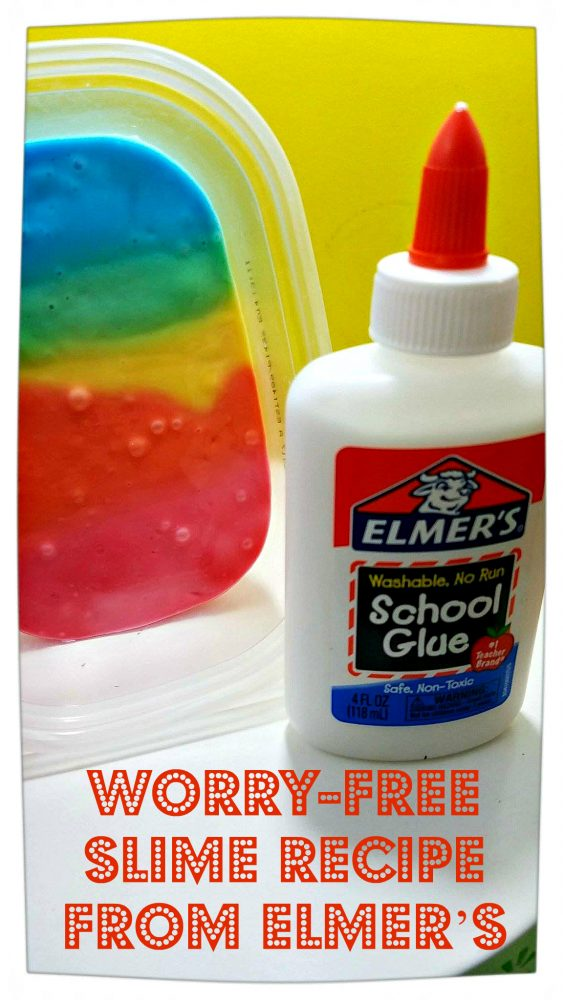 Worry-Free Slime Recipe from Elmer's