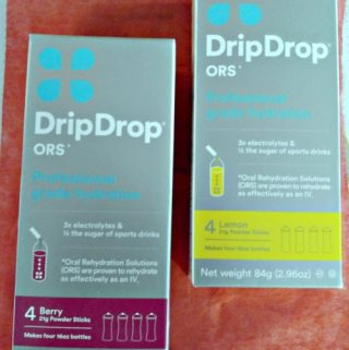 DripDrop Powder Sticks – Mix With Water And Have A Liquid IV