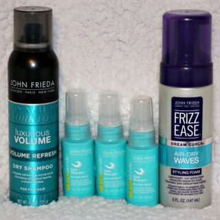 JOHN FRIEDA® Hair Care Products For the Lazy Beach Bum Look