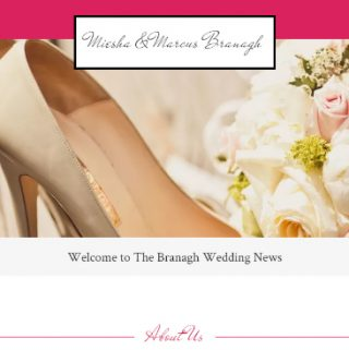 Brides Make Your Wedding Website In Less Than An Hour!