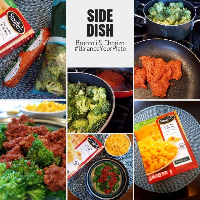 Broccoli & Chorizo Side Dish