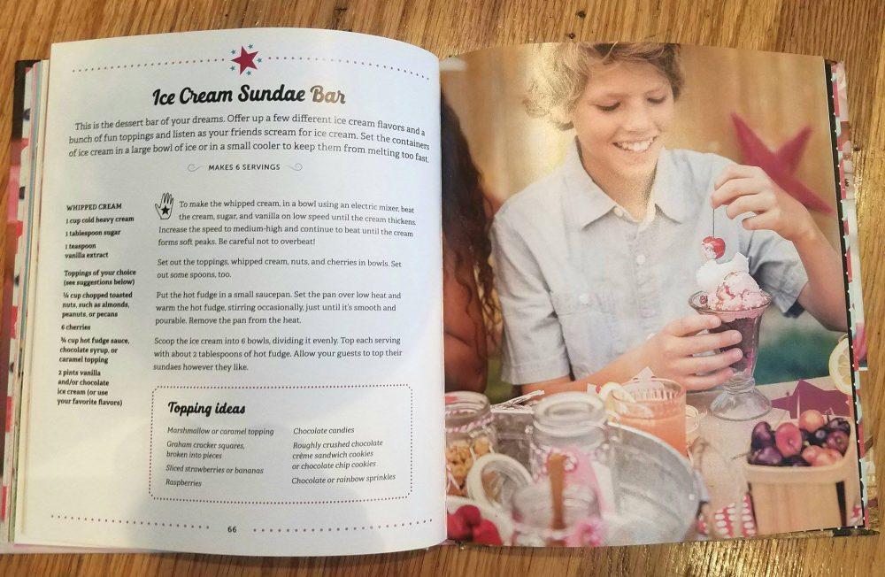 Summer Cooking: American Girl Parties Cookbook